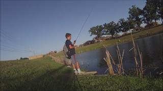 Pond Fishing For Bass