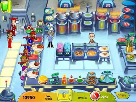 Cooking Dash: Dinertown Studios Level 50