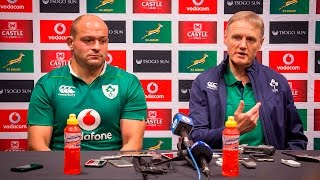Irish captain Rory Best told reporters about his team's frustration about coming so close to clinching the series against the Springboks in Port Elizabeth.  Click here to subscribe to Eyewitness News: http://bit.ly/EWNSubscribe  Like and follow us on: http://bit.ly/EWNFacebook AND https://twitter.com/ewnupdates  Keep up to date with all your local and international news: https://ewn.co.za  Produced by: Aletta Harrison