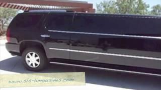 www.sls-limousines.com - Cadillac Escalade Limo Creative 18 pass - exterior
