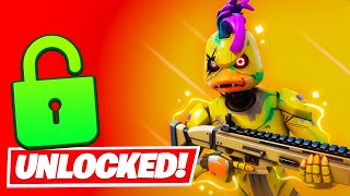 Unlocking *WEBSTER* EARLY in Fortnite (SPRING CUP)
