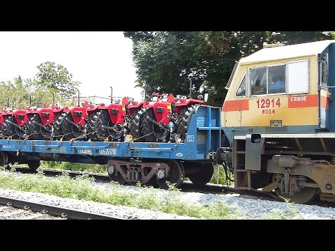 RARE FREIGHT Trains of Indian Railways