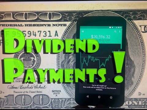 Robinhood APP - How to Receive a STOCK DIVIDEND PAYMENT?