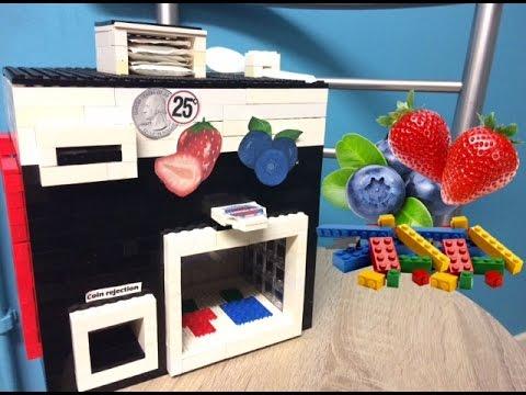 Lego Fruit Machine | Healthy Snack
