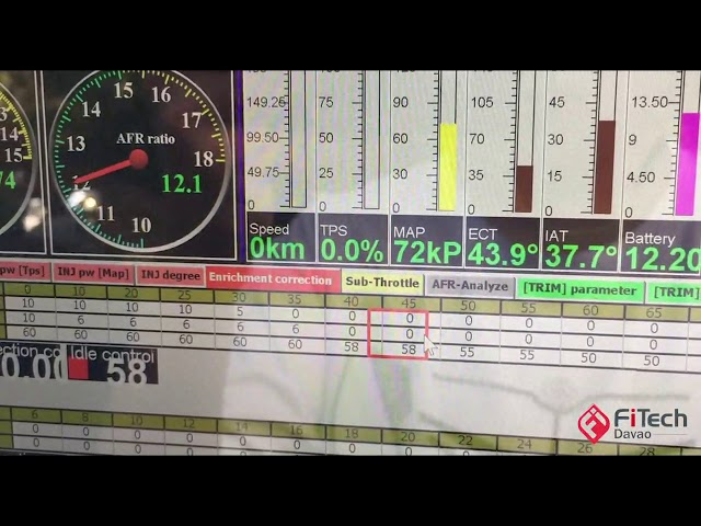 APITech ECU tuning 101 Video 3 -  enrichment correction