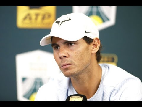 Rafael Nadal FULL Pre-tournament press conference at the Paris Masters 2018
