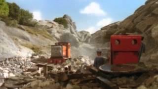 thomas y sus amigos -rusty y la roca.