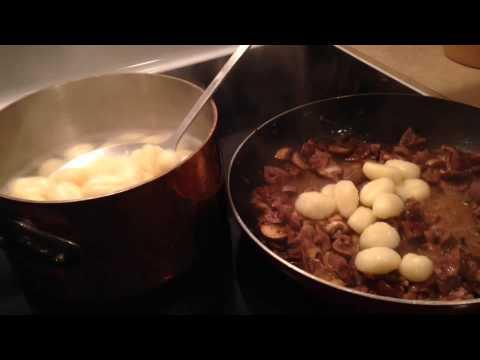 Lamb Kidneys Gnocchi