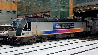 Railfanning New Jersey with Amtrak, New Jersey Transit, SEPTA & CSX Trains!