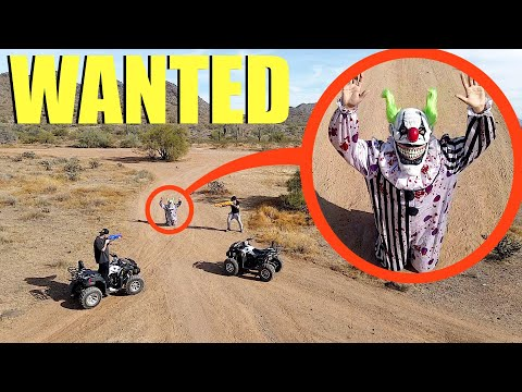 If you see this BOSS Clown... You need to ARREST Him immediately! (Clown Bounty Hunters)