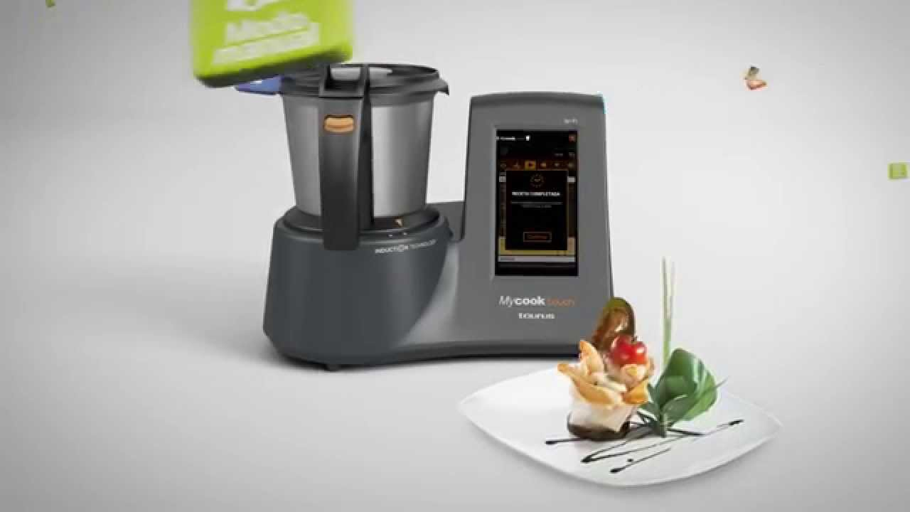 Spot smart cooking robot Mycook Touch - YouTube