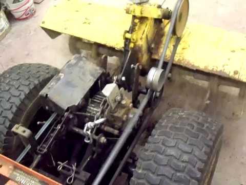 Allis Garden Tractor Tiller