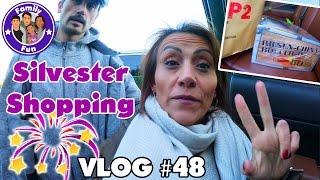 SILVESTER FEUERWERK SHOPPING | Erste Vorbereitungen Daily Vlog #48 Our life FAMILY FUN