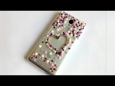DIY | How to make Mobile Cover at home | Mobile cover design/ decoration