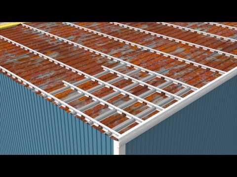 Roof Hugger Retrofit Solutions Animated Installation Youtube