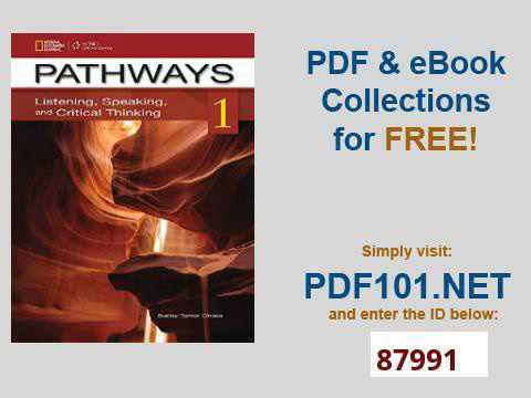 Pathways 4 Listening Speaking And Critical Thinking Pdf