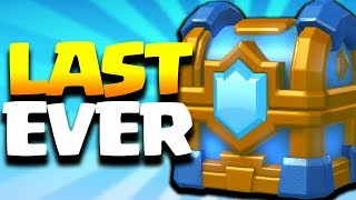 The LAST CLAN CHEST EVER in Clash Royale