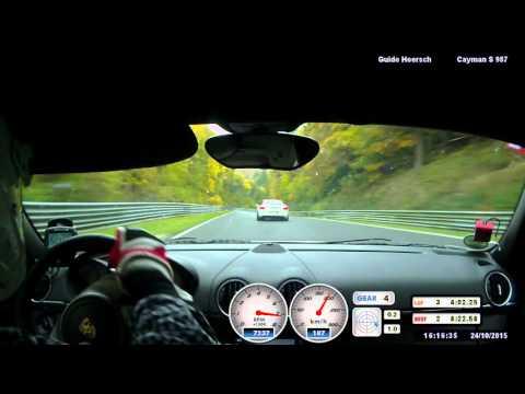 NOS Porsche GT4 und Cayman S