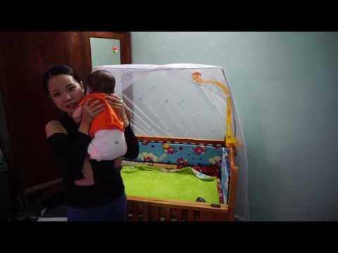 Tự làm bĩm vải cho con - Видео онлайн