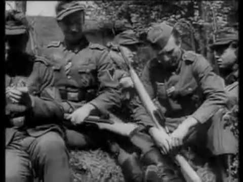 German Sniper's Training 1944