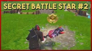 WEEK 2 SECRET BATTLE STAR LOCATION SEASON 10 – Fortnite battle royale
