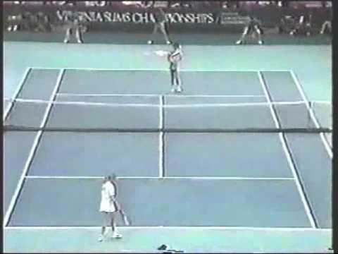 Pam Shriver d. Steffi Graf - 1988 Virginia Slims Championships SF @ Madison Square Garden