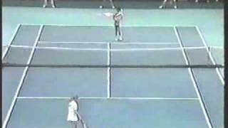 Pam Shriver d. Steffi Graf - 1988 Virginia Slims Championships SF @ Madison Square Garden