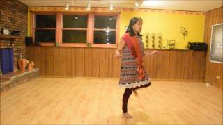 Popat step Garba with Vidya Nahar