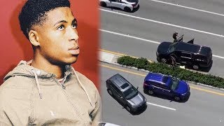 NBA YoungBoy Shot At By Goons In Miami