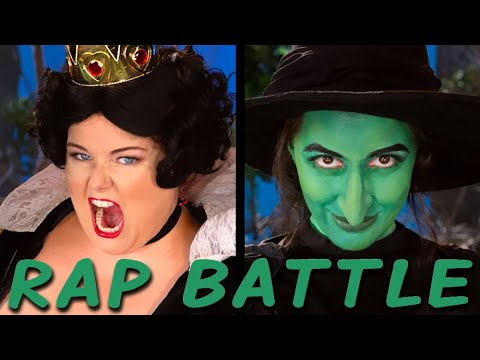 QUEEN OF HEARTS vs WICKED WITCH: Princess Rap Battle (Alyssa Preston, Whitney Avalon) *explicit*