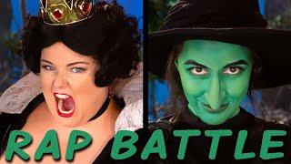 QUEEN OF HEARTS vs WICKED WITCH: Princess Rap Battle (Alyssa Preston, Whitney Avalon) *explicit*