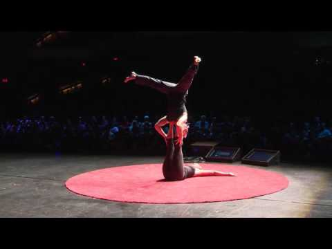 Circus punk acrobats | The Handstand Nation | TEDxSacramento