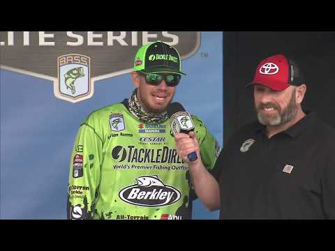 Elite weigh-in: Lake Martin Day 2