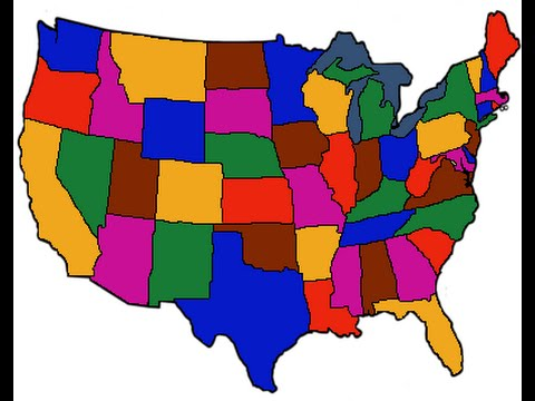 50 states that rhyme (My version)