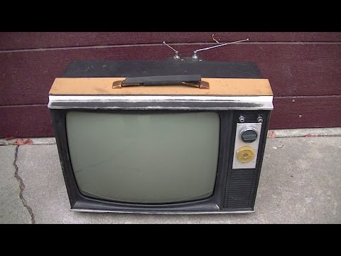 RCA Tube Portable Television Resurrection