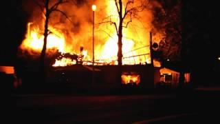 Grote brand Waalwijk