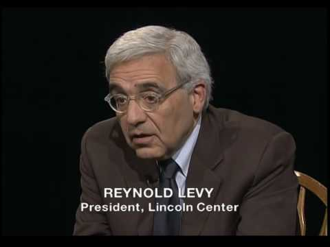 The Open Mind: A Call to Alms - Reynold Levy - YouTube