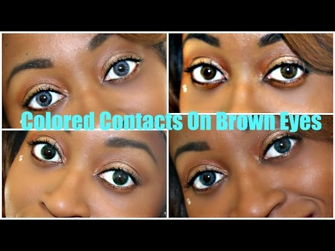 HOW TO ☆Freshlook Colorblends Grey, Green, Pure Hazel & Turquoise Contacts (HD UPDATED) ☆ from YouTube · Duration:  7 minutes 13 seconds
