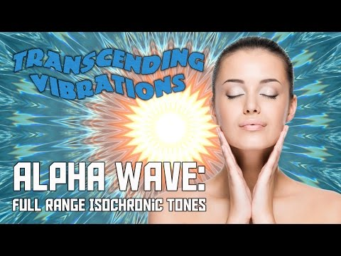 Alpha Wave: Full Range - Pure Isochronic Tones