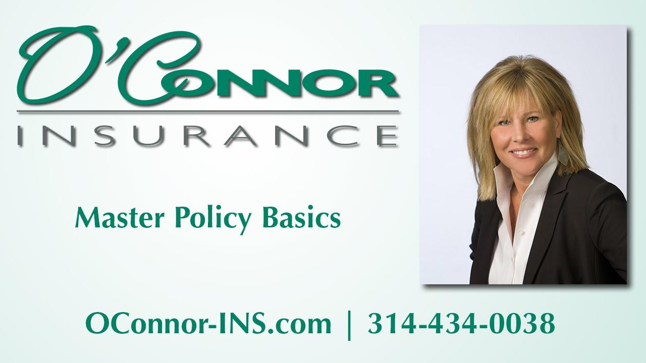 Condominium Master Policy Basics - YouTube