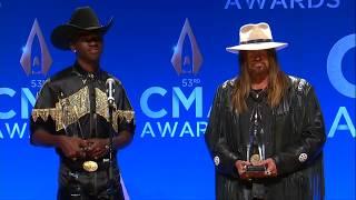 CMA Awards: Lil Nax X and Billy Ray Cyrus Talk Win