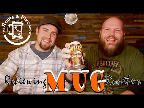 REVIEWING MUG ROOT BEER with David And Conrad: Roots and Fizz episode 1
