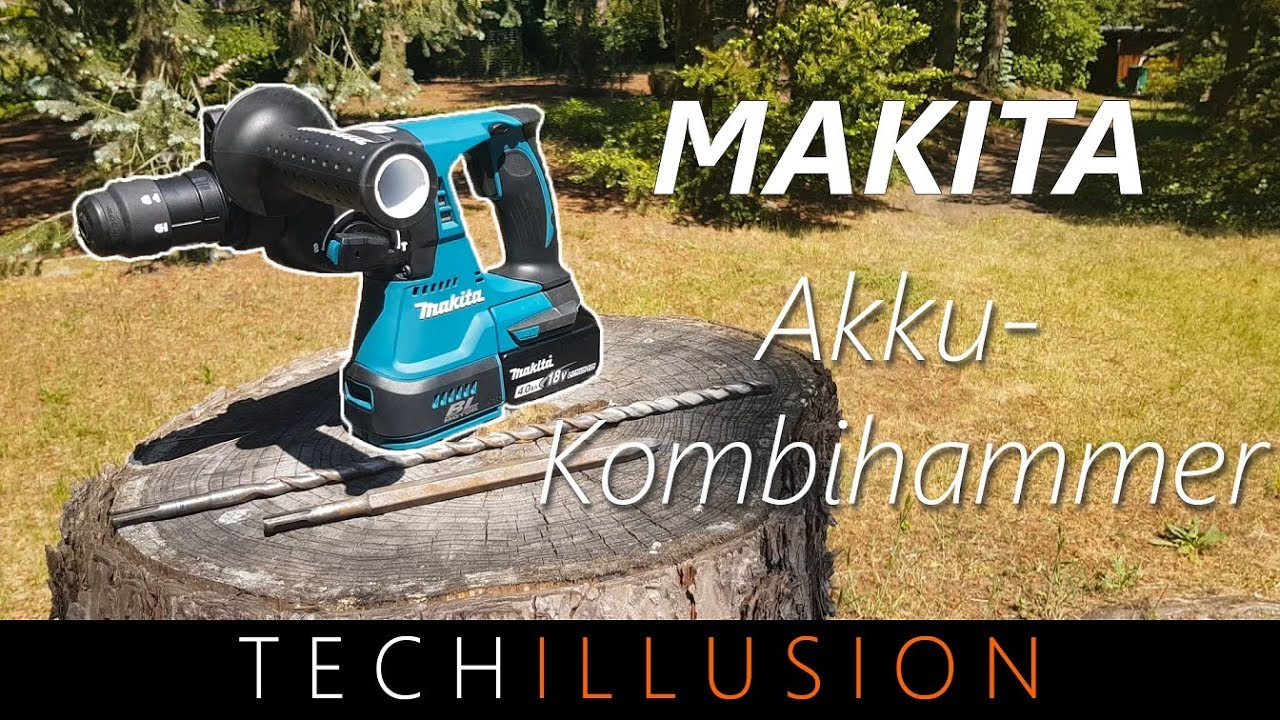 ?makita akku kombihammer im test - makita dhr243 - review & test