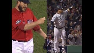 Gary Sanchez Revenge Home Run vs Red Sox - 2018 ALDS Game 2