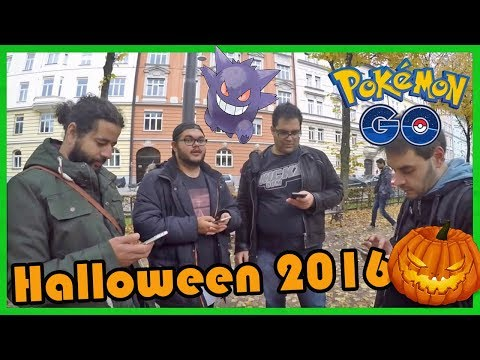 Das 1te Event! HALLOWEEN 2016 Wiederholung! Pokemon Go!