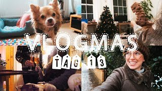 SCHNEE IN LONDON?!, Jenga Weltrekord und Vlogmas-Stress | Tag 13