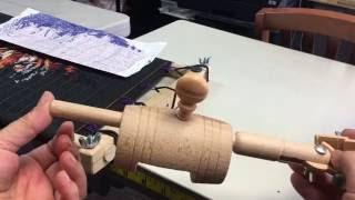 видео Разметка для пялец (EF62S), 100*100мм, Компания Дама Дома.