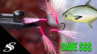How to make Pompano Teaser Flies for Pompano Fishing!