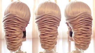 Свадебная причёска -