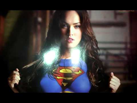 Megan Fox As Supergirl Poster Review Youtube